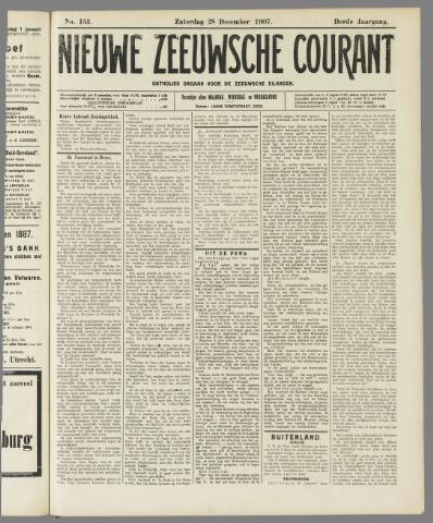 Nieuwe Zeeuwsche Courant 1907-12-28