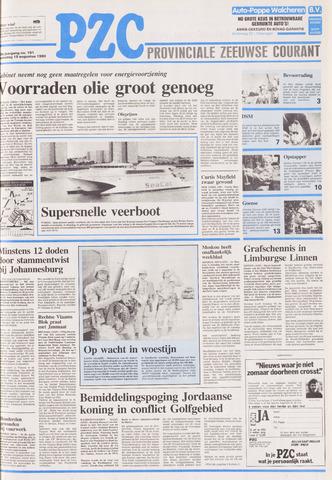 Provinciale Zeeuwse Courant 1990-08-15