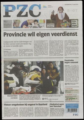 Provinciale Zeeuwse Courant 2014-04-17