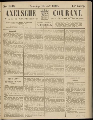 Axelsche Courant 1898-07-16