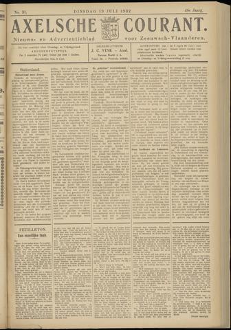 Axelsche Courant 1932-07-19