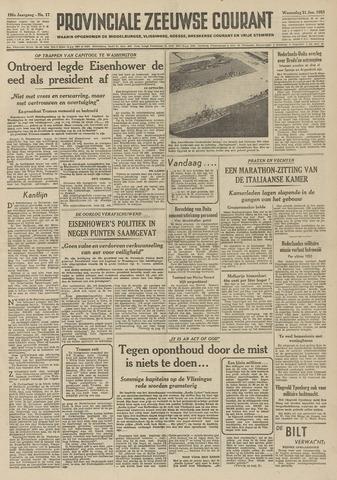Provinciale Zeeuwse Courant 1953-01-21