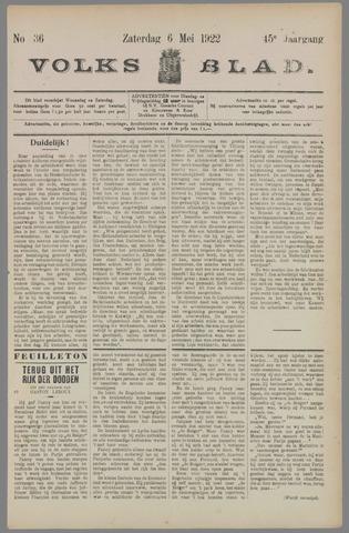 Volksblad 1922-05-06