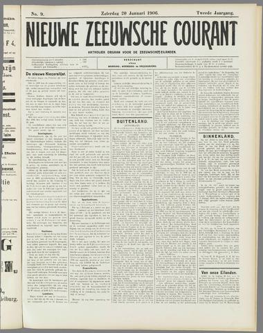 Nieuwe Zeeuwsche Courant 1906-01-20