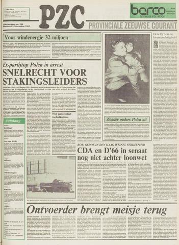 Provinciale Zeeuwse Courant 1981-12-16