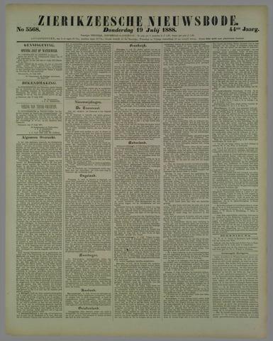 Zierikzeesche Nieuwsbode 1888-07-19