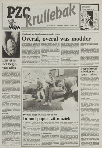 Provinciale Zeeuwse Courant katern Krullenbak (1981-1999) 1990-04-10