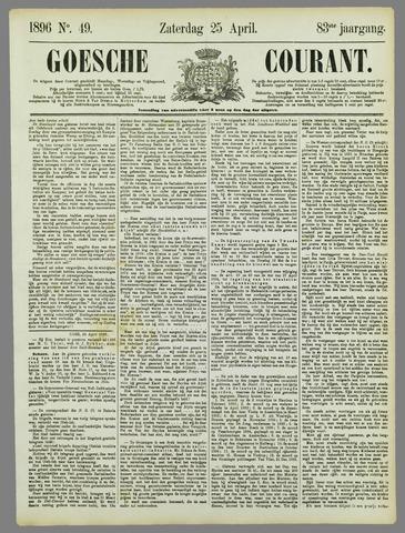 Goessche Courant 1896-04-25