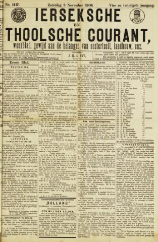 Ierseksche en Thoolsche Courant 1906-11-03