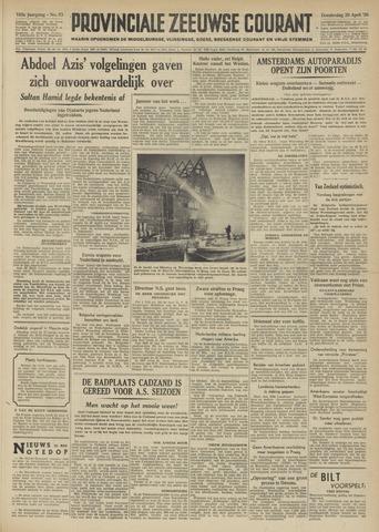 Provinciale Zeeuwse Courant 1950-04-20