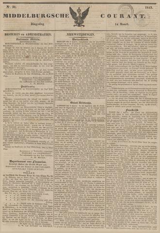 Middelburgsche Courant 1843-03-14