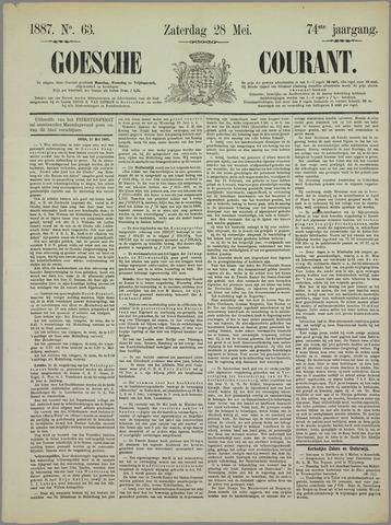 Goessche Courant 1887-05-28