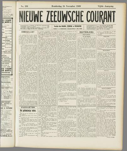 Nieuwe Zeeuwsche Courant 1909-11-18