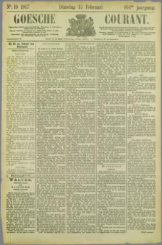 Goessche Courant 1917-02-13