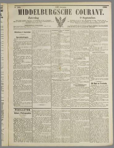 Middelburgsche Courant 1905-09-09