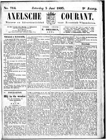 Axelsche Courant 1893-06-03