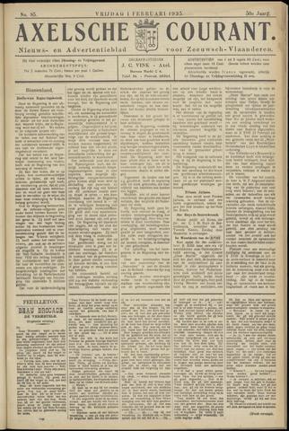 Axelsche Courant 1935-02-01