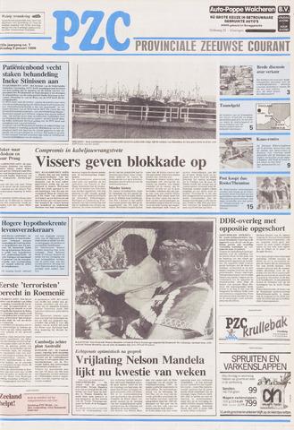Provinciale Zeeuwse Courant 1990-01-09