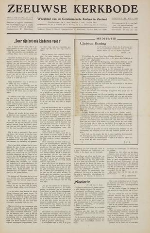 Zeeuwsche kerkbode, weekblad gewijd aan de belangen der gereformeerde kerken/ Zeeuwsch kerkblad 1957-05-24