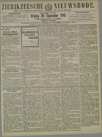 Zierikzeesche Nieuwsbode 1910-09-30