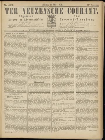Ter Neuzensche Courant. Algemeen Nieuws- en Advertentieblad voor Zeeuwsch-Vlaanderen / Neuzensche Courant ... (idem) / (Algemeen) nieuws en advertentieblad voor Zeeuwsch-Vlaanderen 1901-05-14
