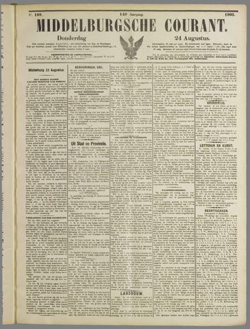 Middelburgsche Courant 1905-08-24