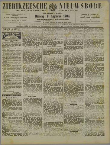 Zierikzeesche Nieuwsbode 1904-08-09