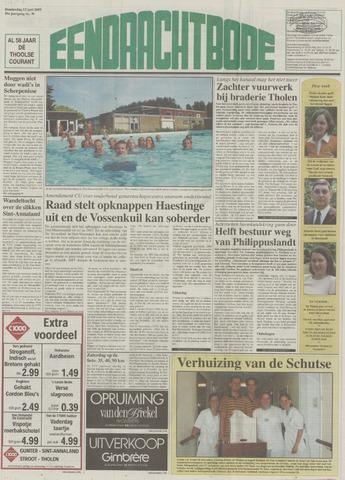 Eendrachtbode (1945-heden)/Mededeelingenblad voor het eiland Tholen (1944/45) 2003-06-12