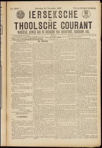 Ierseksche en Thoolsche Courant 1917-11-24