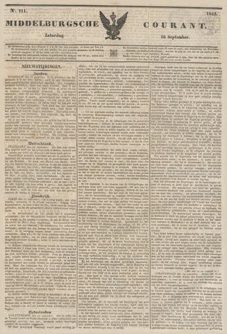 Middelburgsche Courant 1843-09-16