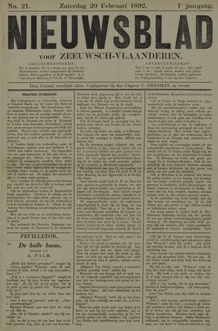 Nieuwsblad voor Zeeuwsch-Vlaanderen 1892-02-20