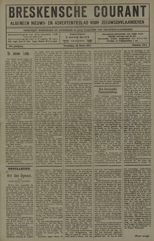 Breskensche Courant 1924-03-26