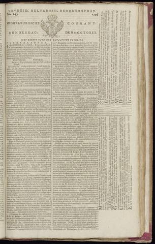 Middelburgsche Courant 1795-10-22