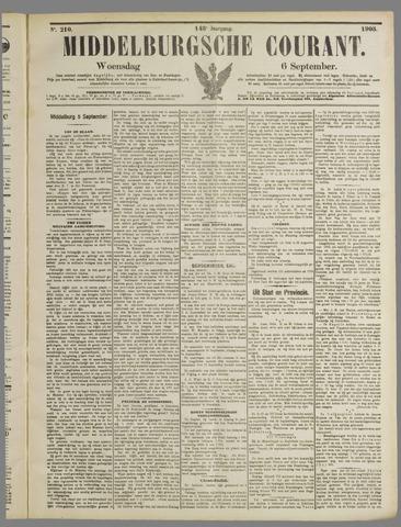 Middelburgsche Courant 1905-09-06