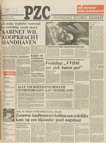 Provinciale Zeeuwse Courant 1976-04-15