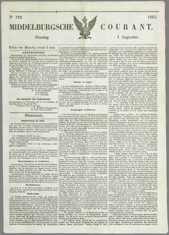 Middelburgsche Courant 1865-08-01