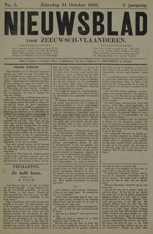 Nieuwsblad voor Zeeuwsch-Vlaanderen 1891-10-31