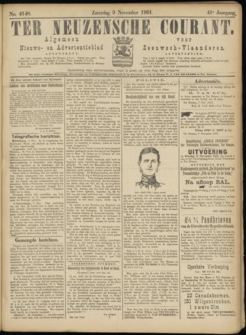 Ter Neuzensche Courant. Algemeen Nieuws- en Advertentieblad voor Zeeuwsch-Vlaanderen / Neuzensche Courant ... (idem) / (Algemeen) nieuws en advertentieblad voor Zeeuwsch-Vlaanderen 1901-11-09