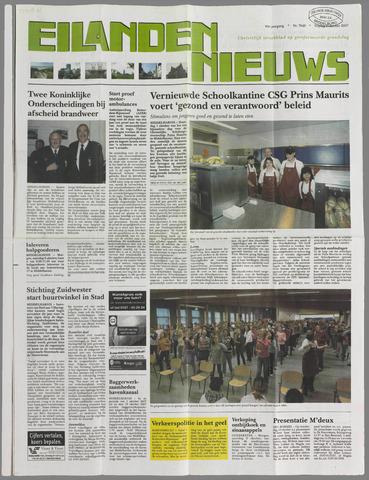 Eilanden-nieuws. Christelijk streekblad op gereformeerde grondslag 2007-10-05