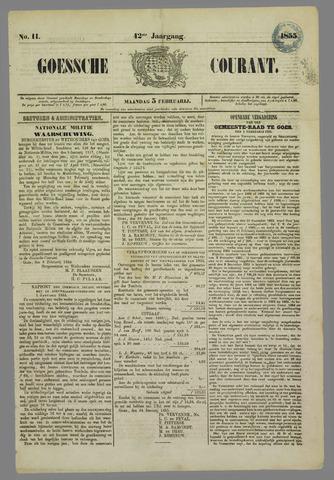 Goessche Courant 1855-02-05