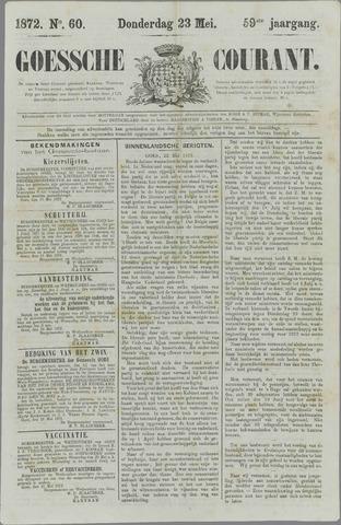 Goessche Courant 1872-05-23