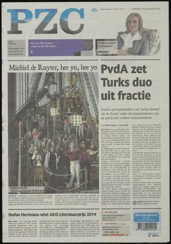Provinciale Zeeuwse Courant 2014-11-14