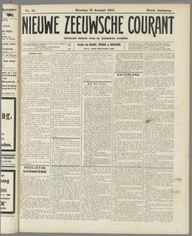 Nieuwe Zeeuwsche Courant 1907-01-29