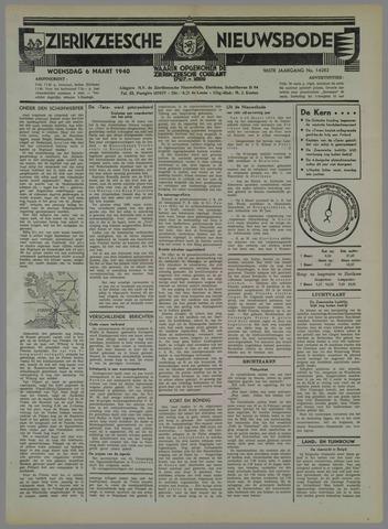 Zierikzeesche Nieuwsbode 1940-03-06