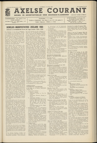 Axelsche Courant 1965-06-19