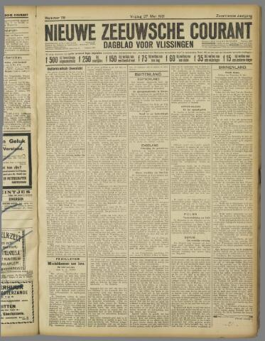 Nieuwe Zeeuwsche Courant 1921-05-27