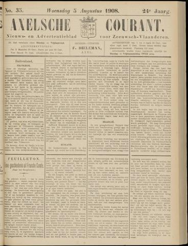Axelsche Courant 1908-08-05