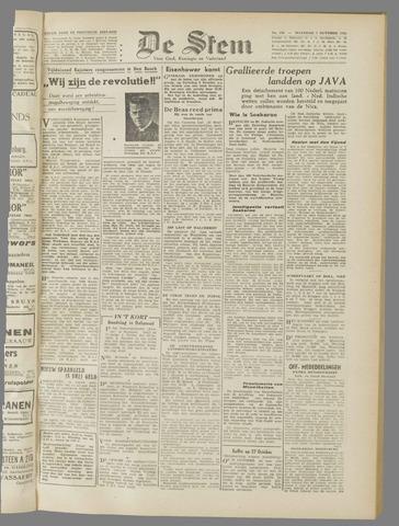 de Stem 1945-10-01