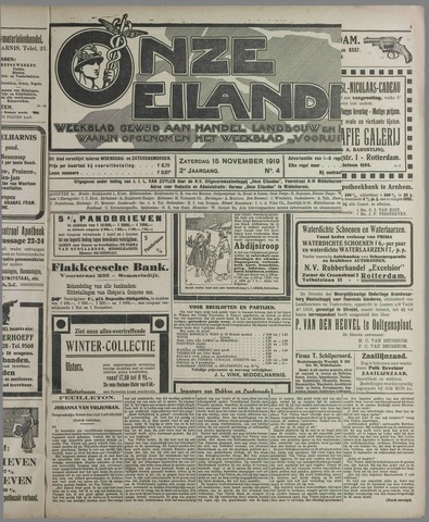Onze Eilanden 1919-11-15