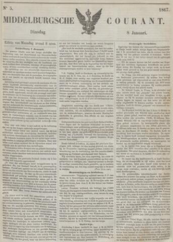 Middelburgsche Courant 1867-01-08